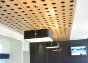 Murano Perforated Acoustic Wood Ceiling panel