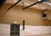 Grooved Acoustic Wood Panel