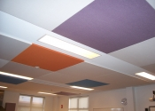 Serenity Fabric Acoustic Ceiling Panels