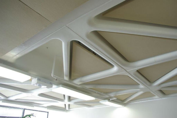 Fabric Acoustic Ceiling Panels Sontext Acoustic Panels