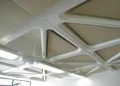 Bespoke Fabric Acoustic Ceiling Panel