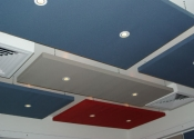 Suspended Acoustic Ceiling Panels